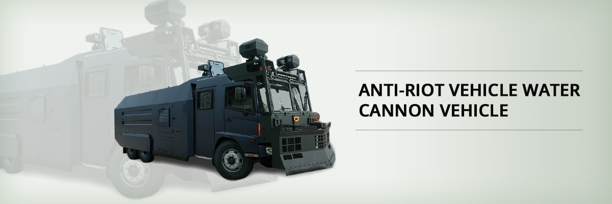 ANTI-RIOT VEHICLE WATER CANNON VEHICLE